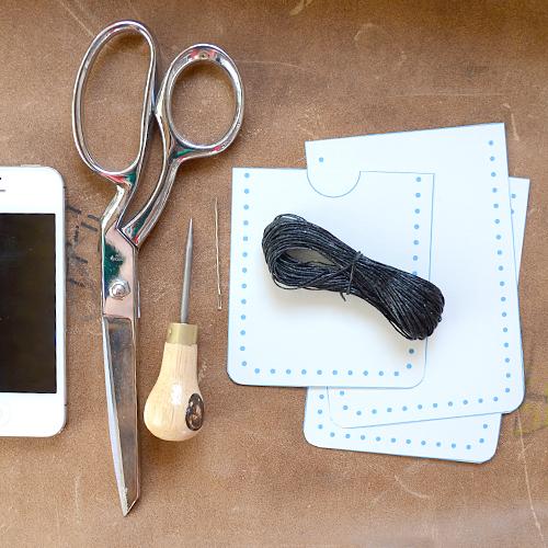 Leather Iphone Case Tutorial