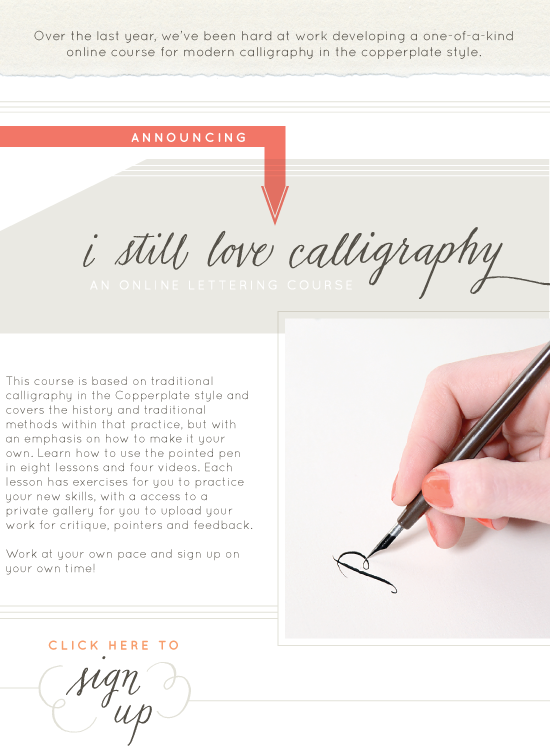 Alf Img Showing Copperplate Calligraphy Instruction