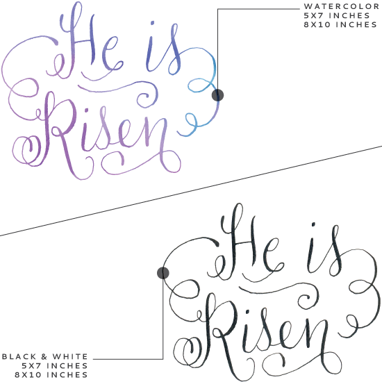 MELISSAESPLIN-he-is-risen-easter-calligraphy-printable