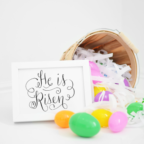 melissaesplin-calligraphy-he-is-risen-easter-printable